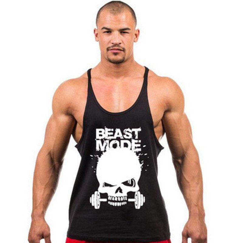 62c32e4baea5b 2017 New Brand Clothing Fitness Tank Top Men Stringer Golds Bodybuilding Muscle  Shirt Workout Vest gyms Undershirt Plus Size on Aliexpress.com