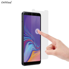 OriWood Matte Tempered Glass For Samsung Galaxy A7 2018 2.5D No-Fingerprint Frosted Screen Protector Protective Film For A7 2018