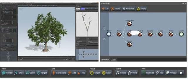 US $10 0 |Landscape plug SpeedTree Cinema 7 1 1 Win64 + treebank + UE4 &  Substance PC software English version Full Function on Aliexpress com |