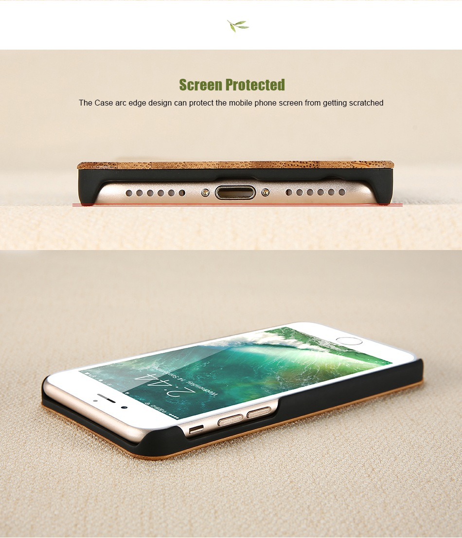 For iPhone 7 iPhone 7 Plus Case Natural Bamboo Wooden Phone Cases For iPhone 6 6S Plus 6 Plus (8)