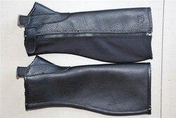 Профессиональная одежда для верховой езды, мягкая кожа, защита для тела, Конное оборудование, натуральная кожа, Chaps Halters