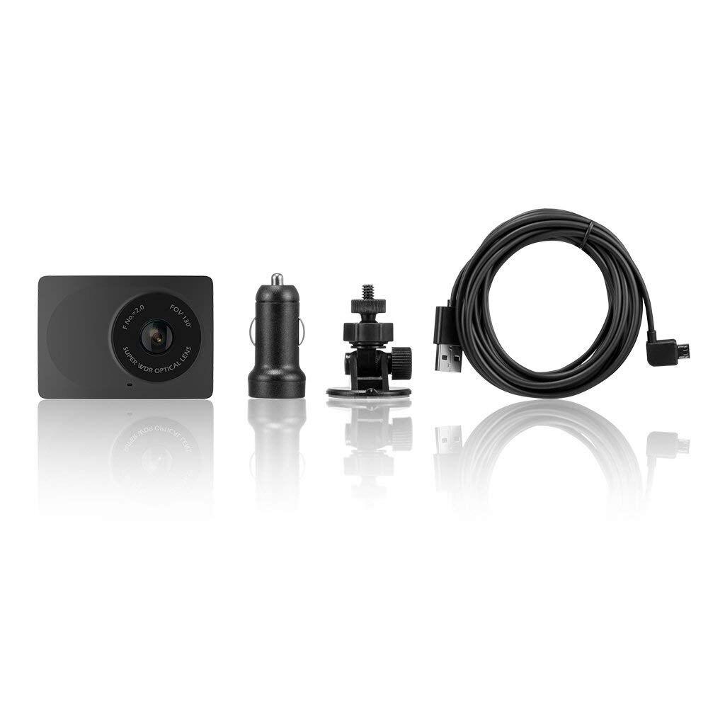 YI Compact Dash Caméra 1080 p Full HD caméra de tableau de bord de voiture avec 2.7 pouces écran lcd 130 WDR Lentille G-Capteur vision nocturne noir - 6