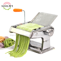 hot sale Stainless Steel Manual Press Pasta Noodle Machine spaghetti noodle maker home kitchen cooking tools