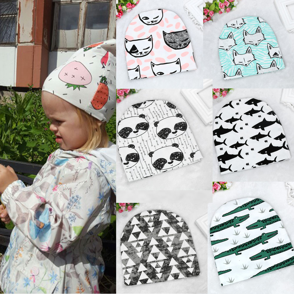 2017 Hot Toddler Kids Girls Boys Baby Infant Winter Warm Crochet Knit Hat Beanie Cap Jan9 BTTF