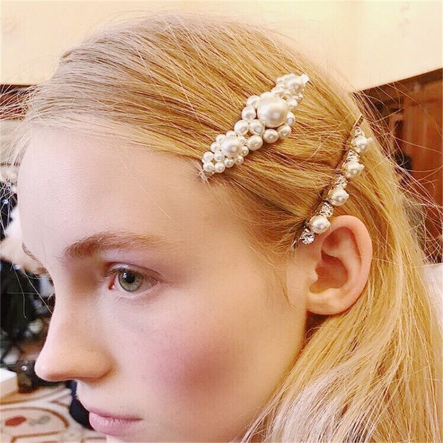 New Popular Pearl Hairgrip Women Girls Hair Clips Pin Accessories For Girls Hair Barrette Hairclip Hairpin Headdress Headwear