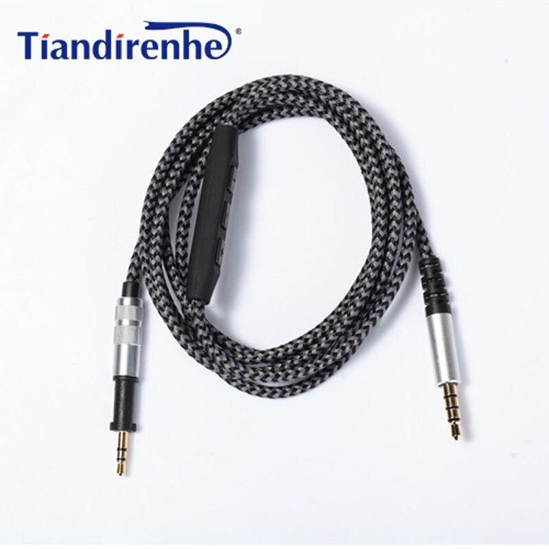 Cabo de substituição para akg k450 k451 k452 k480 q460 fone de ouvido 1.8m 3.5mm macho a 2.5mm cabo de áudio de alta fidelidade masculino para iphone android