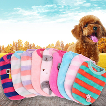 Fleece Dog Clothes Soft Pet Clothing for Dogs Coat Jackets Cartoon Costume Vest Puppy Cat Supplies