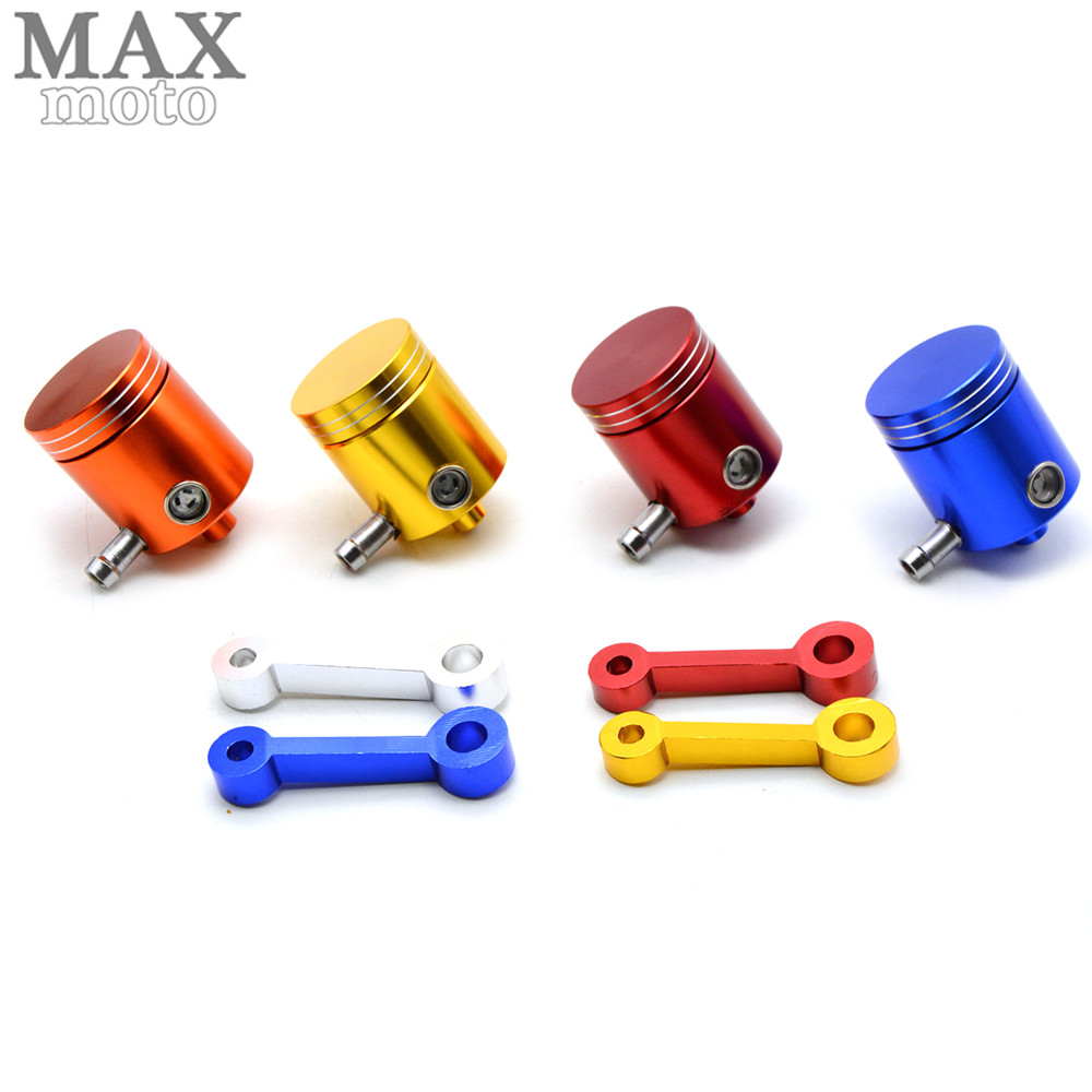 CNC Motorcycle Brake Fluid Reservoir Clutch Tank Cylinder Master Oil Cup For Kawasaki Yamaha ktm suzuki SV650 SV650S SV 650 650S universal motorcycle brake fluid reservoir clutch tank oil fluid cup for mt 09 grips yamaha fz1 kawasaki z1000 honda steed bone