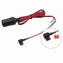 1 компл. 1,5 мм гнездо прикуривателя с 1 м кабель + Автомобильное взять электрический Приспособления предохранителей держатель для небольших автоматический предохранитель