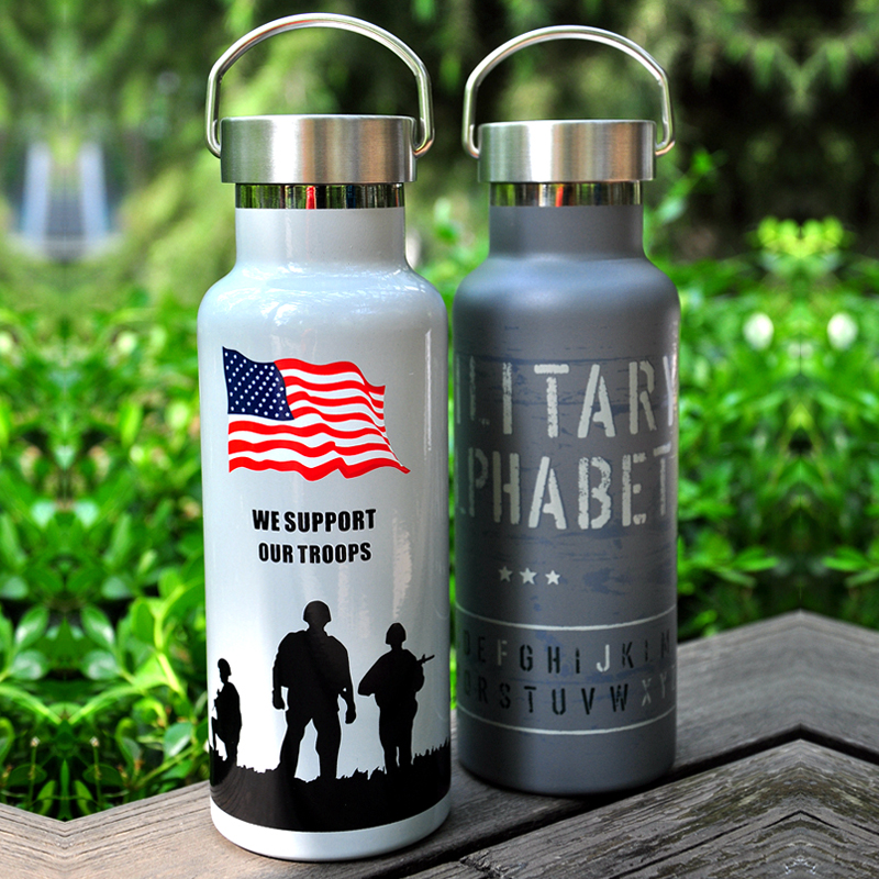 500ml warm sky,aluminum,portable,sport insulation kettle,travel bottle,mug,pot,water bottle,kettle vacuum flask,thermoses