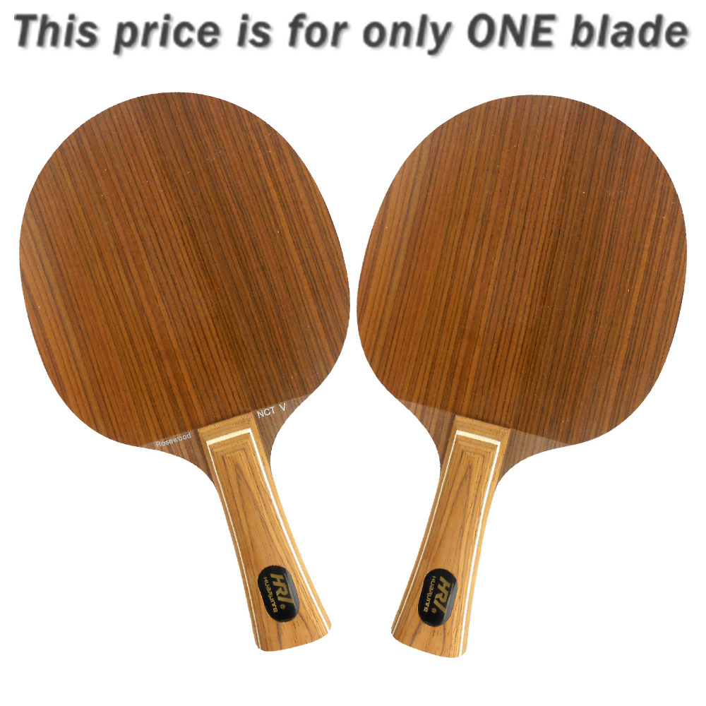 Original HRT Rosewood NCT V rosewoodV rosewood-V OFF Table Tennis Blade for PingPong Racket hrt ebony nct vii ebony vii ebonyvii table tennis pingpong blade