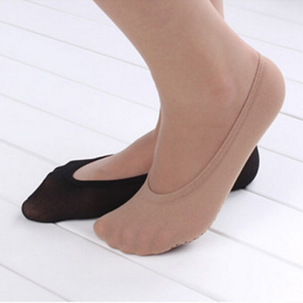 Women summer invisible boat socks women anti slip loafer or pumps socks hot sell shoes decorations shoes covers soumit 5 colors professional yoga socks insoles ballet non slip five finger toe sport pilates massaging socks insole for women
