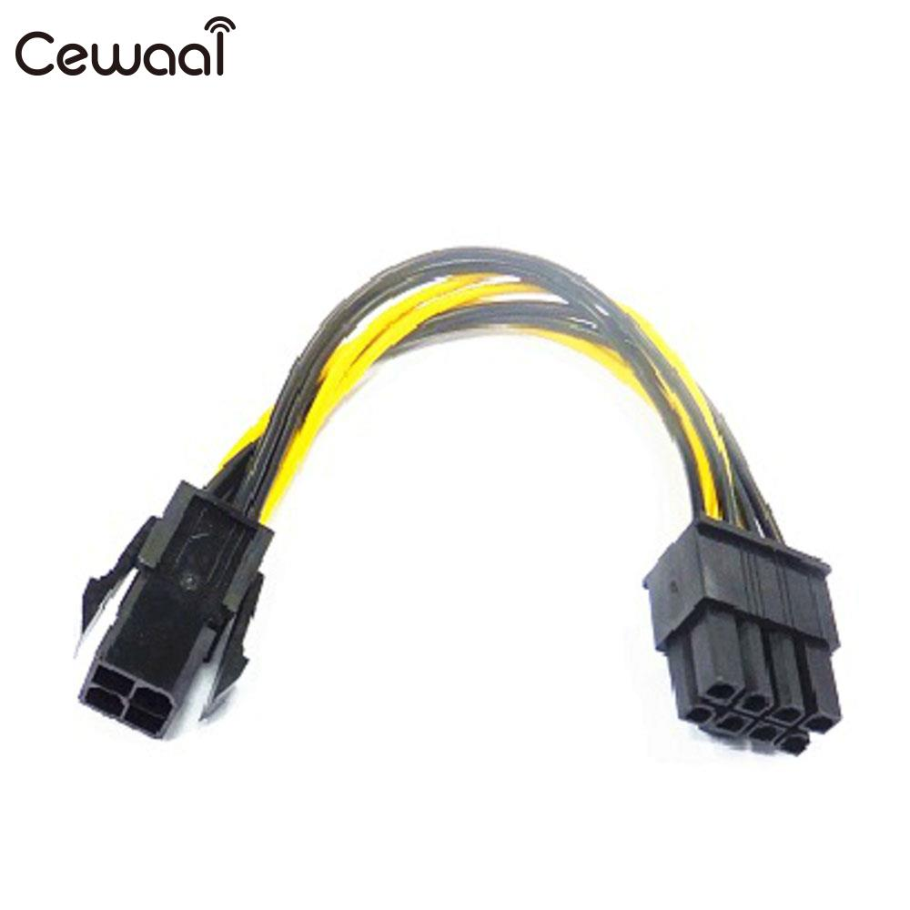 Hot 1/2/3pcs PC Computer Motherboard ATX Adapter Cable 8-Pin EPS Connecting 4-Pin For Molex Power Supply Board