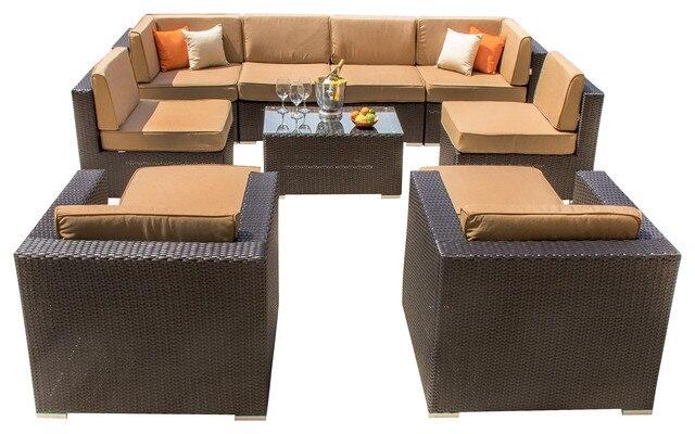 2016 Wholesale Custom synthetic PE rattan garden sofa outdoor furniture. Online Get Cheap Garden Outdoor Furniture  Aliexpress com