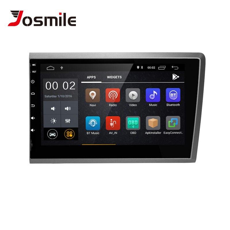 Josmile 2 din Android 8.1 Car Multimedia Player For VOLVO S60 VOLVO V50 V70 XC70 2000 20012002 2003 2004AutoRadio GPS Navigation