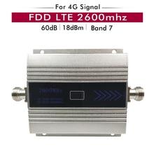 4G Sinyal Güçlendirici FDD LTE 2600mhz (LTE Bant 7) cep telefon sinyal tekrarlayıcı 4G LTE 2600 Ağ Hücresel Mobil sinyal amplifikatörü