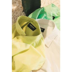 Image 1 - Simwood 綿 100% 古典的なカジュアルな胸ポケット 2020 春夏新高品質シャツ 190068