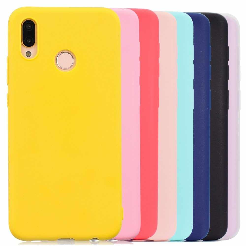 Multicolor Silicone Phone Case Cover For Huawei Mate 10 20 P8 P9 P10 P20 lite Pro 2017 Y5 Y9 2018 Nova 3i 2i 3E P Smart 7C Case