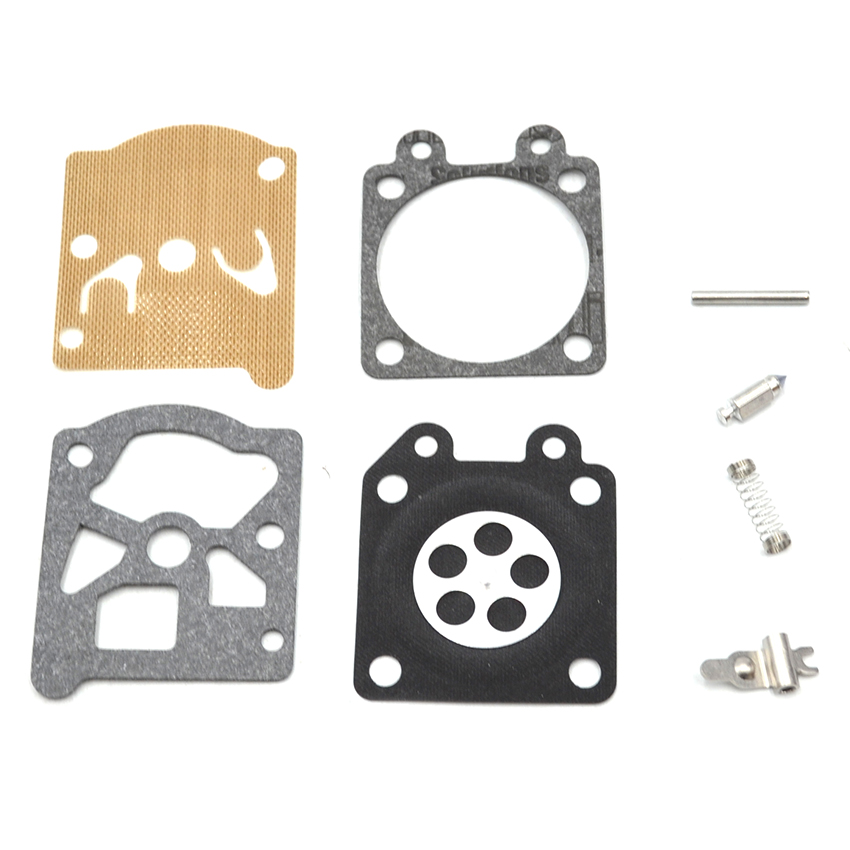 10Set Carburetor Repair Kit For HUSQVARNA 36 41 136 137 141 142 Chainsaw  цены