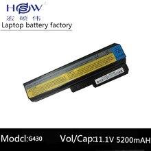 5200mah battery for lenovo G550 G430 G450 G530 N500 Z360 L06L6Y02 L08L6C02 L08O6C02 L08S6C02 L08S6Y02 51J0226 57Y6266
