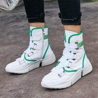 NAYIDUYUN вулканизированной женские туфли из коровьей кожи на шнуровке теннисные кроссовки танкетке на низком каблуке оксфорды повседневная о