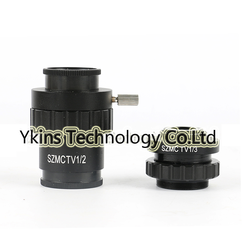 0 3X 0 5X Type C Mounting Adapter to Reduce Lens Focal Length Trinocular Stereoscope CCD