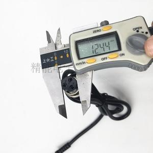 Image 3 - 24V 2A עופרת חומצת סוללה מטען חשמלי קטנוע ebike מטען כיסא גלגלים מטען עגלת גולף מטען 3 שיניים inline 12MM