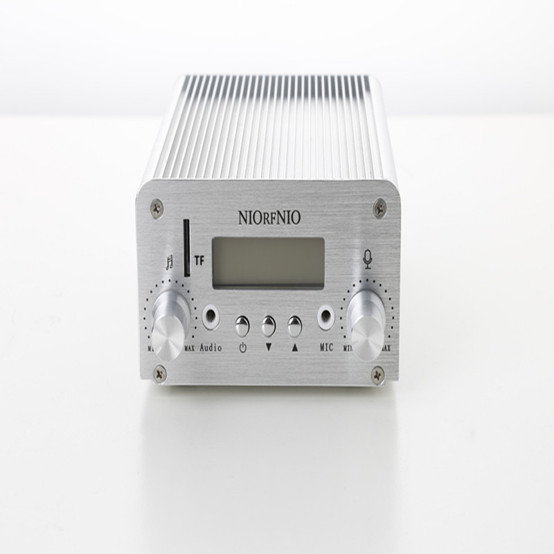 Free Shipping NIO-T6T 1W/6W Mini Home Audio Broadcasting Equipment  with TF Card 76MHz to 108MHz free shipping nio t6t 1w 6w stereo audio fm amplifier kit professional transmitter with tf card