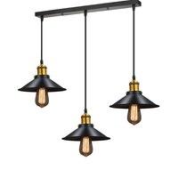 Vintage Chandelier Lamp Loft Lustre E27 Copper Lamp Holder Industrial Lighting For Home Restaurant Cafe Edison