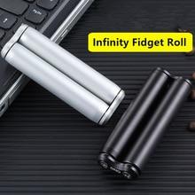 Aluminum Alloy Fidget Roller Spinner Infinity Anti Anxiety T