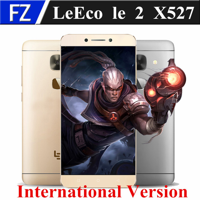 "LETV LeEco Le 2 X527 International Version 5.5"" Snapdragon 652 octa core Android 6.0 4G LTE 16MP 3GB RAM 32GB ROM fingerprint"
