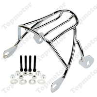 Chrome Solo Seat Luggage Rear Fender Rack For Harley Sportster XL 883 1200 2004 2008 2009 2010 2011 2016