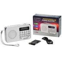 Fabrik preis Heiße Mini Digital Beweglicher Musik-mp3-player Micro SD/TF Karte Lautsprecher FM Radio WH Sept13 Drop verschiffen