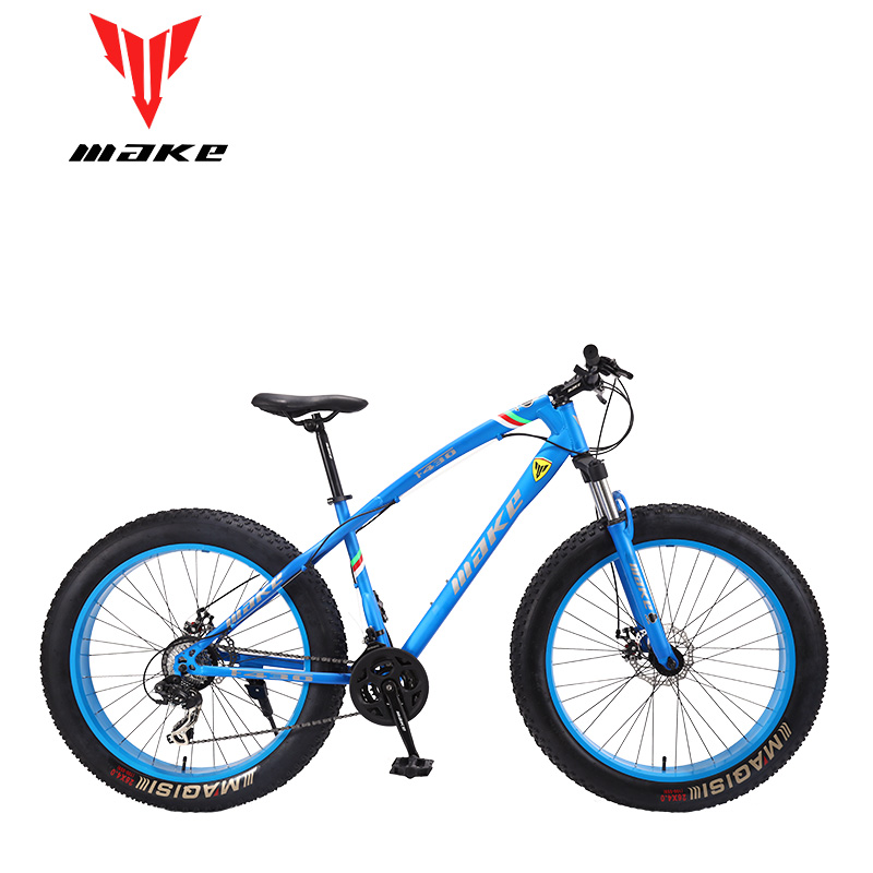 Make F430 fatbike MTB горный велосипед 24 скорости SHIMAN0 26x4,0 колеса