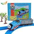 Thomas Y Amigos de Trenes Juguetes Kid Boy Conjunto Todoterreno Trackmaster Tren Eléctrico Mini Tomas piko Modelo de carreras de coches de regalo de Navidad