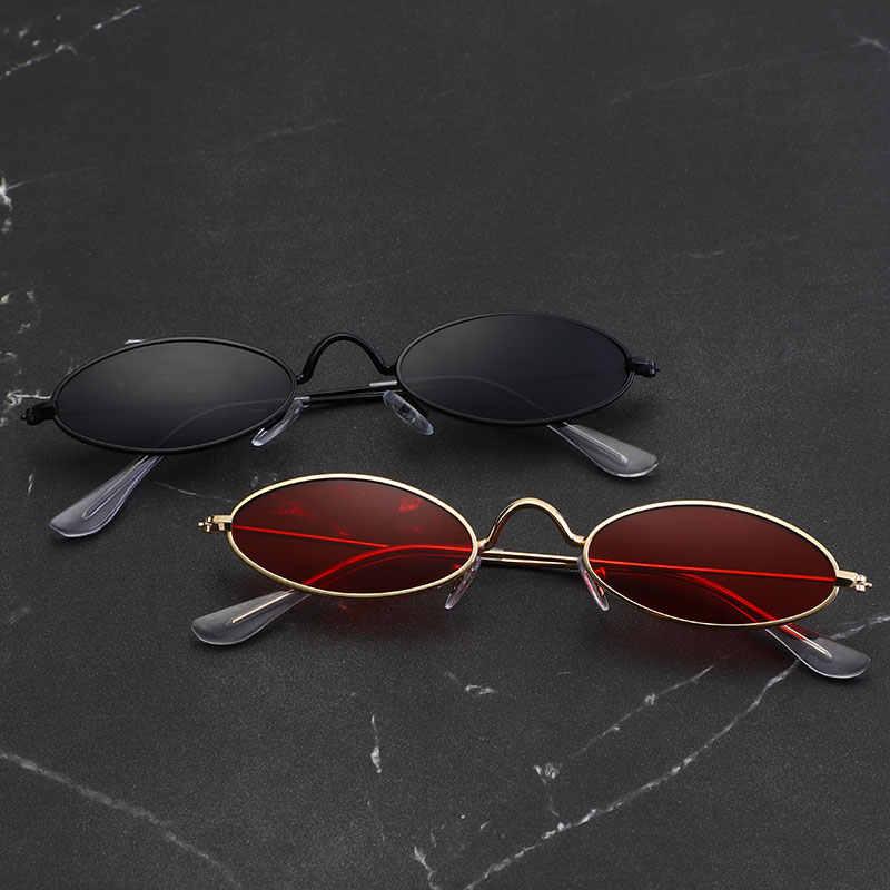 ضوء صغير الرجال نظارات معدنية الإطار التقليدي عناصر UV400 الصيف الاتجاه 2018 جديد النظارات الشمسية الرجال الشمس الزجاج 7 ألوان