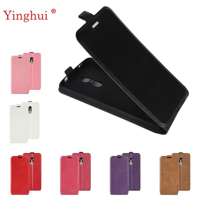 För Xiaomi Redmi Note 4X fodral vertikalt fodral för Xiaomi Redmi Note 4X Hög kvalitet Flip läderfodral för Redmi Note 4x