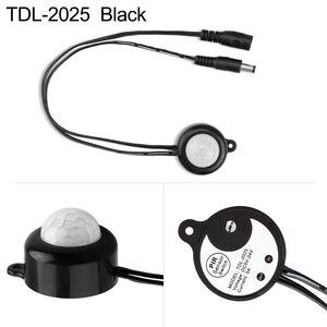 Image 5 - Pir Motion Sensor Light Switch Auto On Off Voor Led Strip Licht Sensor Controller DC12V DC5 ~ 24V