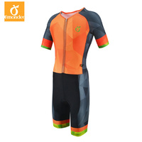 EMONDER Hot Summer Men's Jumpsuit Triathlon Sports Cycling Skinsuit High Quality Pro team Sports Clothing 2018
