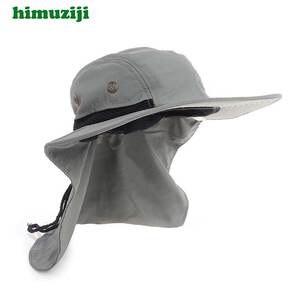 76072fd640c2f himuziji Sun Hat for Man Summer Women UV Protection Hats