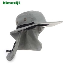 Sun Hat for Man Sunshade Cover Neck Fishing Hat Adjustable Summer Hat Climbing Jungle Hiking Women UV Protection Hats