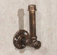 H 15 5CM Base Diameter 6 5cm Retro Vintage Old Iron Industrial Pipe Hanger Clothing Rack