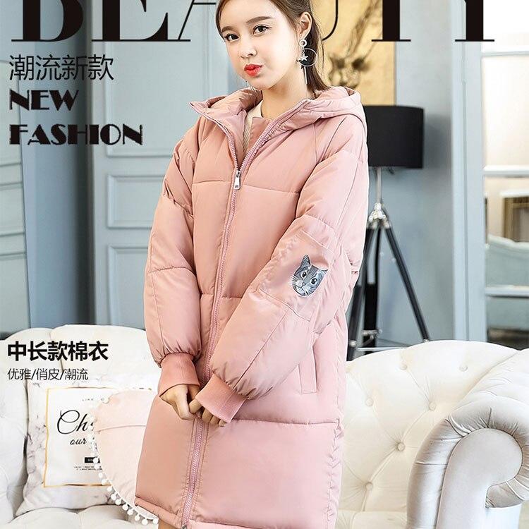 Vers Mode Veste Nouvelle Des De Bas Vestes Édition Plus Couple D'hiver Épais La Femmes Parka 2018 Le Manteau Taille Coréenne gPaqP