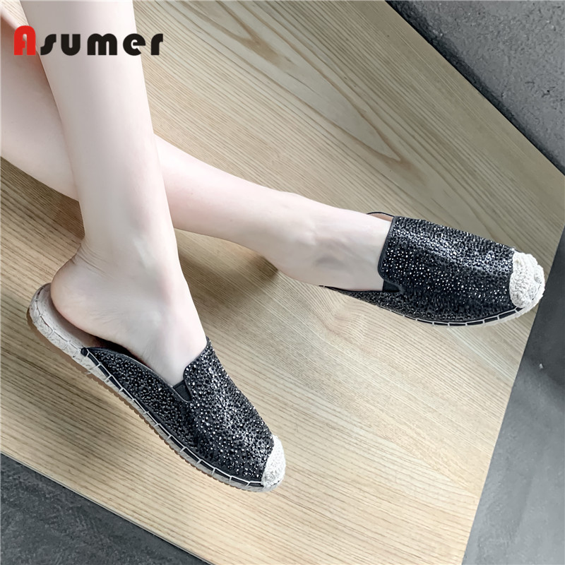 Asumer women sandals most comfortable casual Summer No-slip Flat slippers high quality Material girls flat sandals MulesAsumer women sandals most comfortable casual Summer No-slip Flat slippers high quality Material girls flat sandals Mules