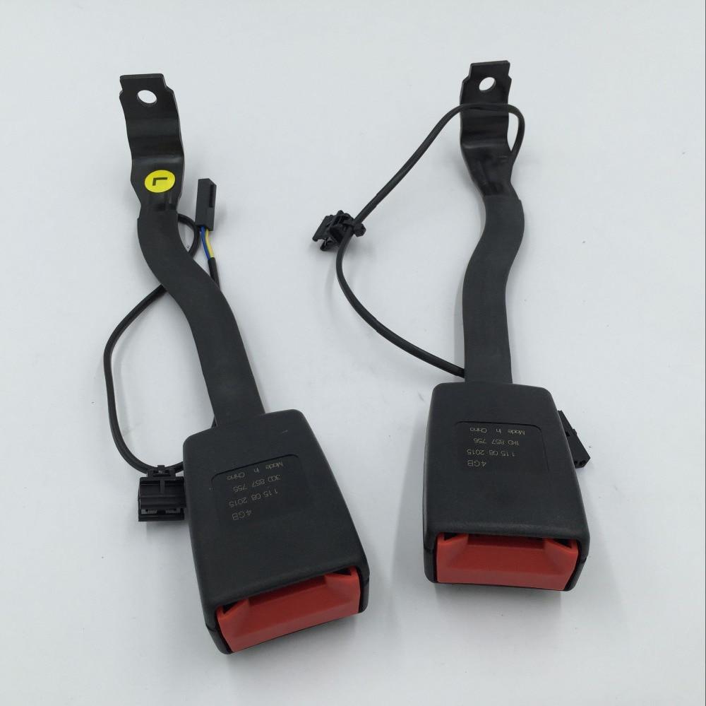 Per VW Passat B6 Golf 5 Jetta MK5 Anteriore Sinistro o Destro Fibbia Della Cintura di sicurezza Imbottitura Spina Dello Zoccolo del Connettore 1KD 857 756/1KD 857 755