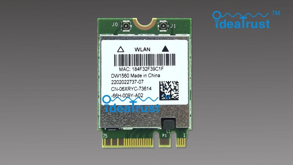 Brand new DW1560 BCM94352Z  06XRYC 802.11ac NGFF M2 867Mbps BCM94352 BT4.0 WiFi Wireless Network Card