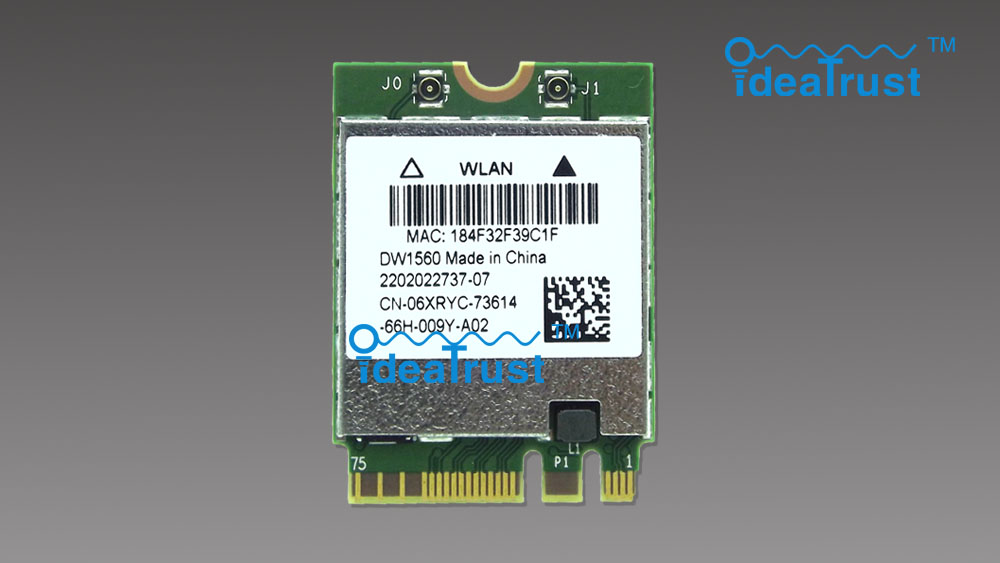 Marque nouveau DW1560 BCM94352Z 06 XRYC 802.11ac NGFF M2 867 Mbps BCM94352 BT4.0 WiFi Sans Fil Carte Réseau