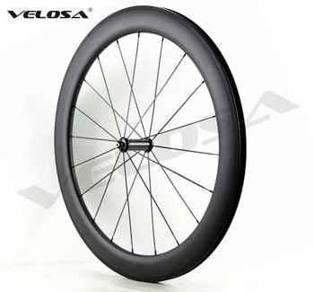 R36 carbon hubs 700C road bike Carbon Wheels 38mm 50mm 60mm 88mm Tubular Clincher,25mm width U sharp aero rim