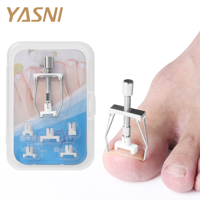 Ingrown Toe Nail Recover Correction Tool Pedicure Toenail Fixer Foot Nail Care Tool Orthotic Nail Corrector Pedicure Tool FT52
