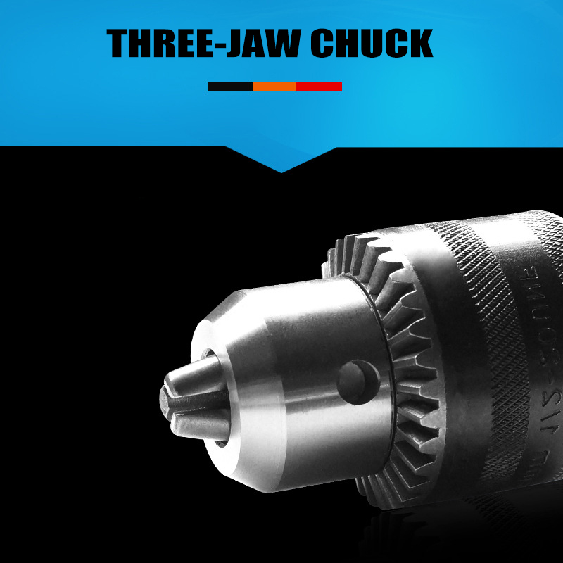 Electric Hammer Drill Chuck Adapter 1.5-13mm Thread With Key For Rotary Tools LKS99